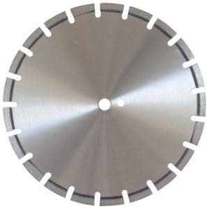 Asphalt blades are perfect diamond blades for the job.